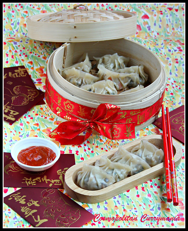 Chinese New Year Vegetarian Dumplings
