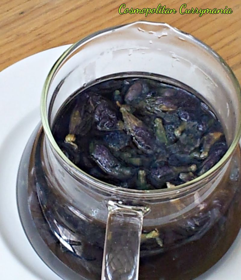 Butterfly pea tea