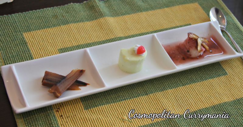 Goan bebinca and other sweets at goan food festival 2013 sheraton.jpg