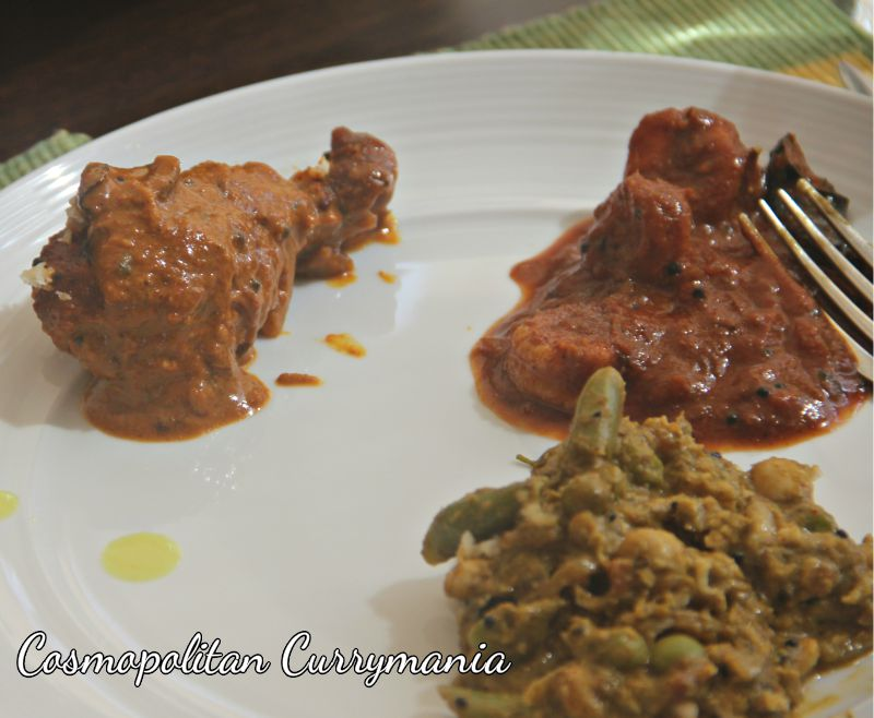different dishes on my plate at goan food festival 2013 sheraton.jpg