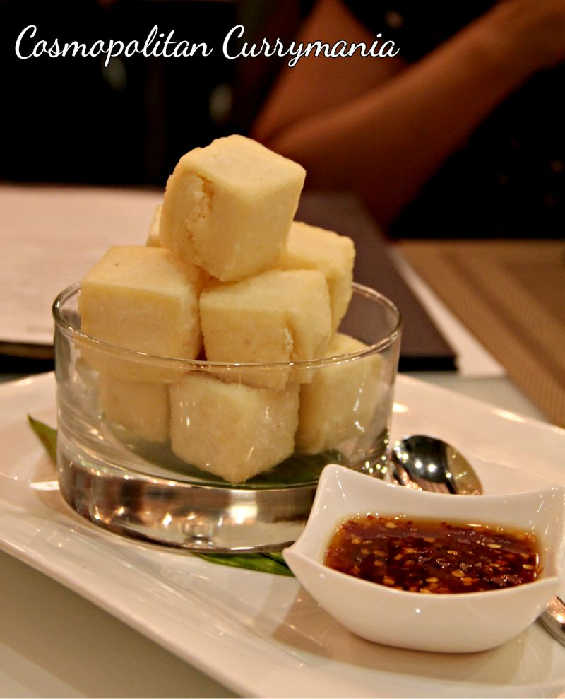 Tad hu tod (fried tofu) was very interesting too!