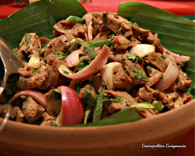 You must try this succulent Achari Gosht ka Salad!