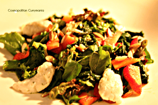 House Salad, Strawberry and Kale
