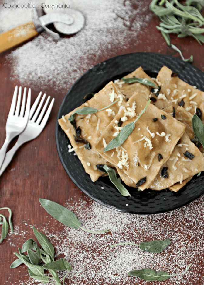 Wheat and multigrain Ravioli using Aashirvaad Atta with Multigrains