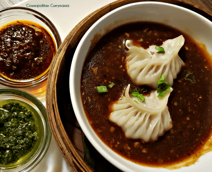 spicy dimsums in broth