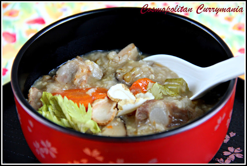 Easy ginseng congee