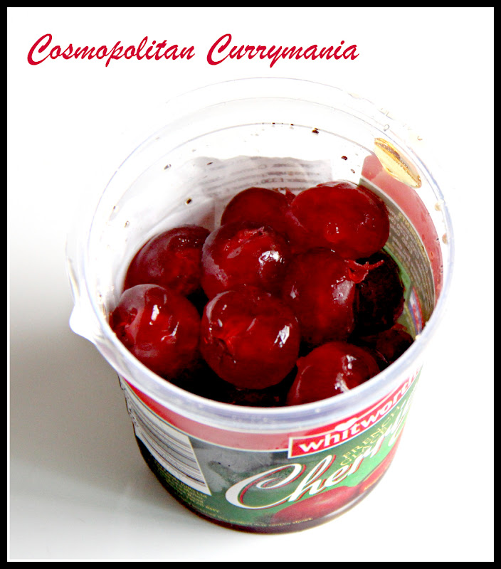 Glaced cherries for Tutti Frutti cookies