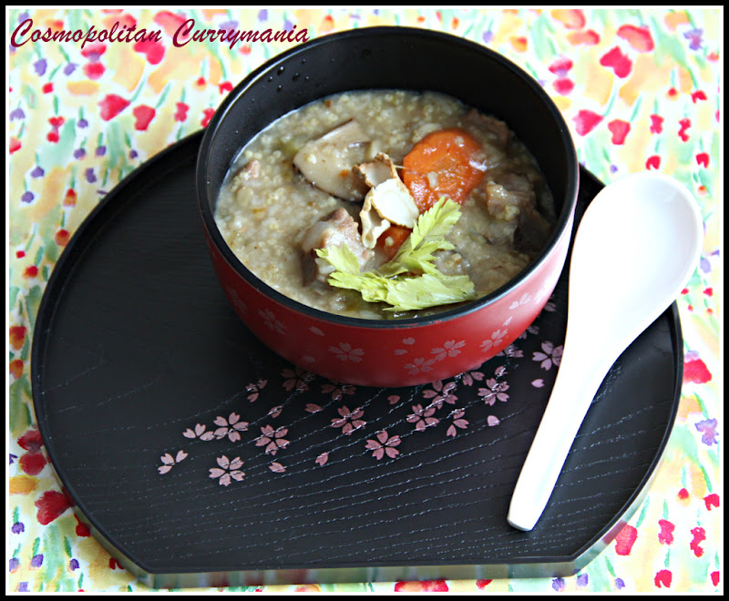 Easy ginseng congee 1