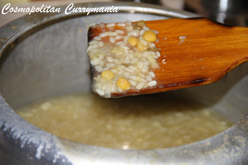 perfectly boiled dal
