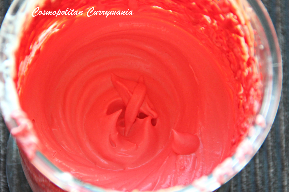 pink whipped cream