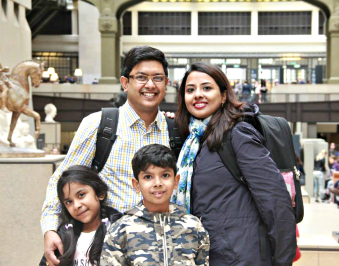 Food and travel are the two things we can't live without. Meet my family!