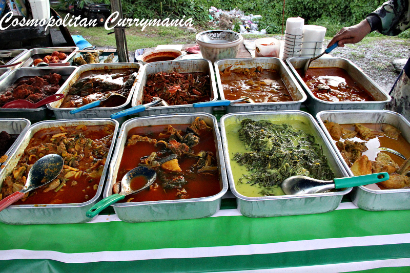Malaysian curries in Langkawi