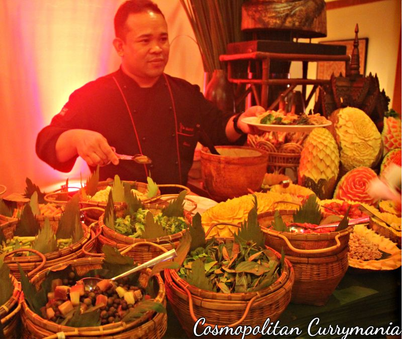 The Asian live counter served amazing food!