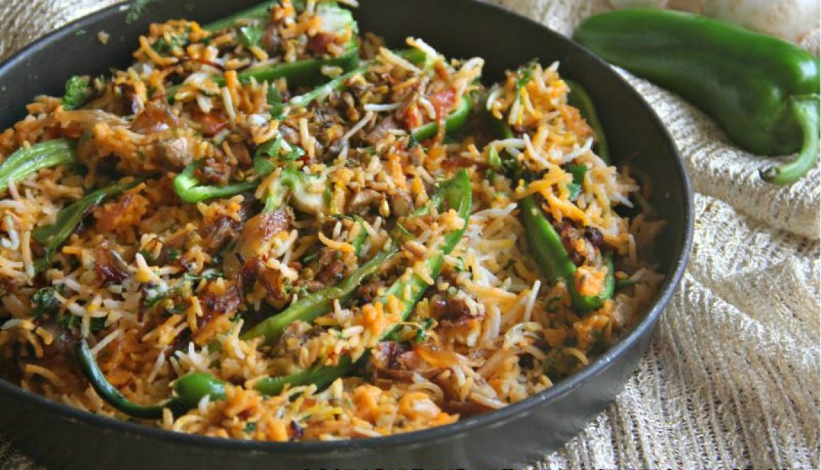 vegetarian biryani with stuffed chillies 1-001.jpg