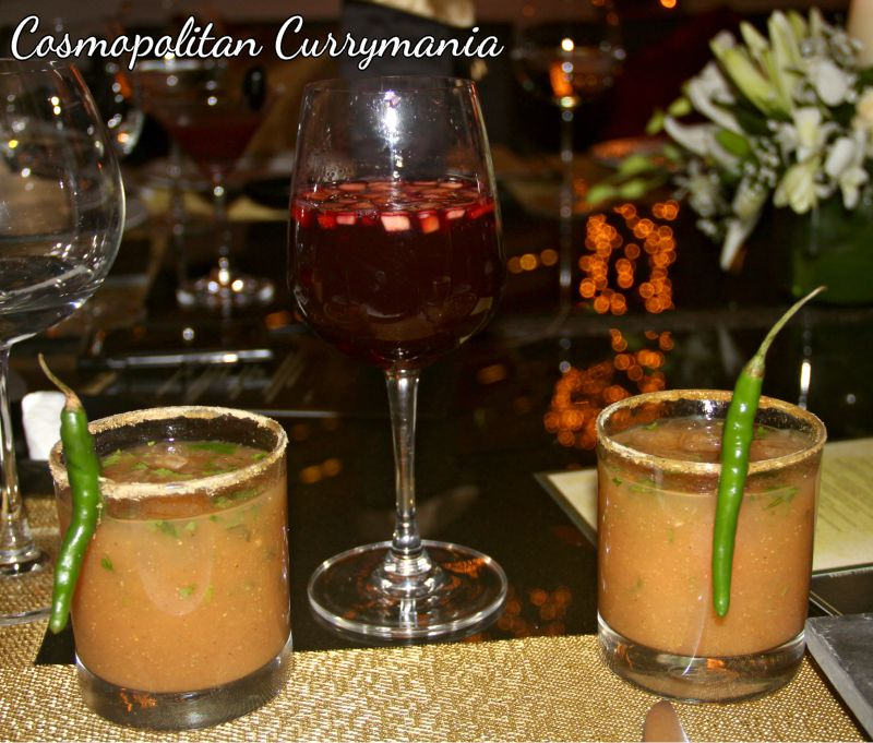 The fiery guava cocktail is a n explosion of flavours: must-try!