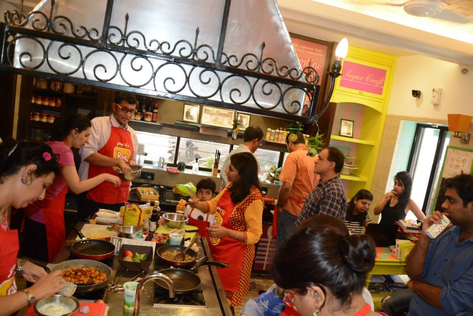 Godrej Yummiez Mother's Day cookout at Palate Culinary Studio, Mumbai