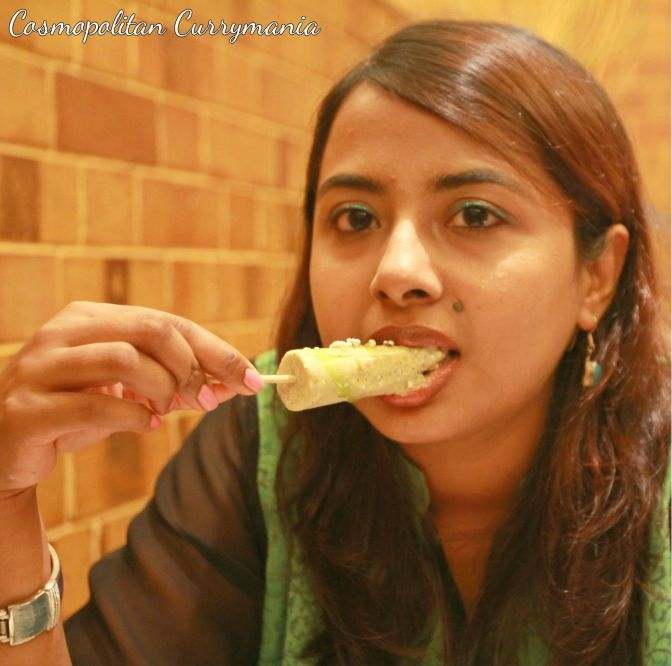 My favourite kulfi at Kulfi Nation was the Paan Kulfi, with all those delicious toppings! Do try this kulfi for sure.