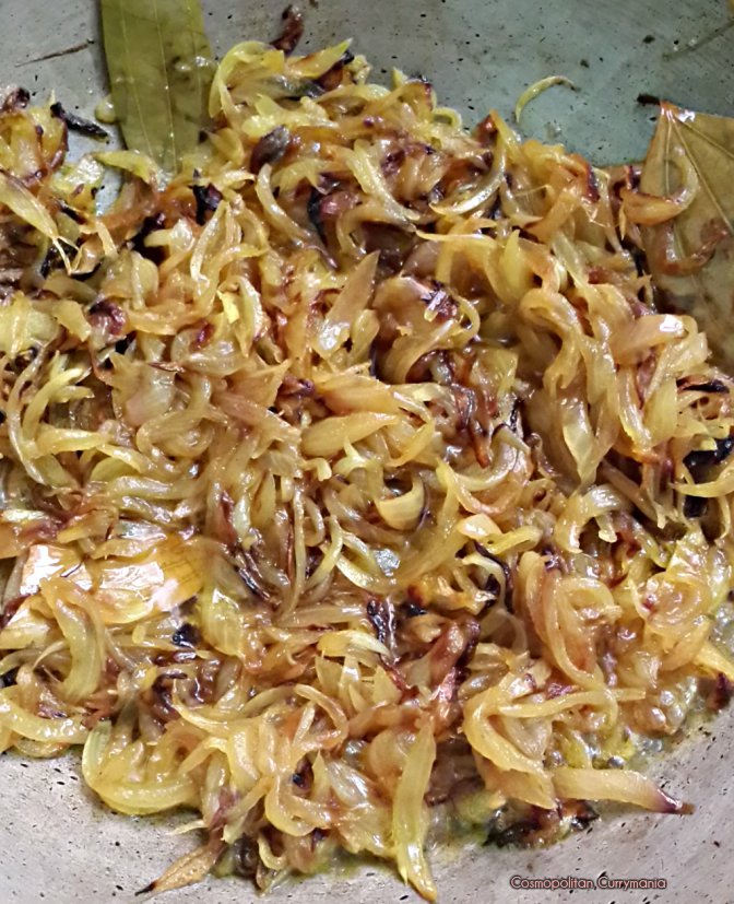 Cook the onions till these are mushy