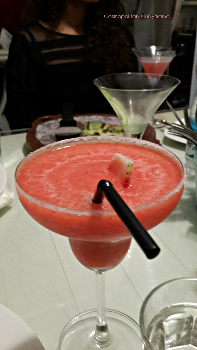Non-alcoholic Strawberry Margarita.