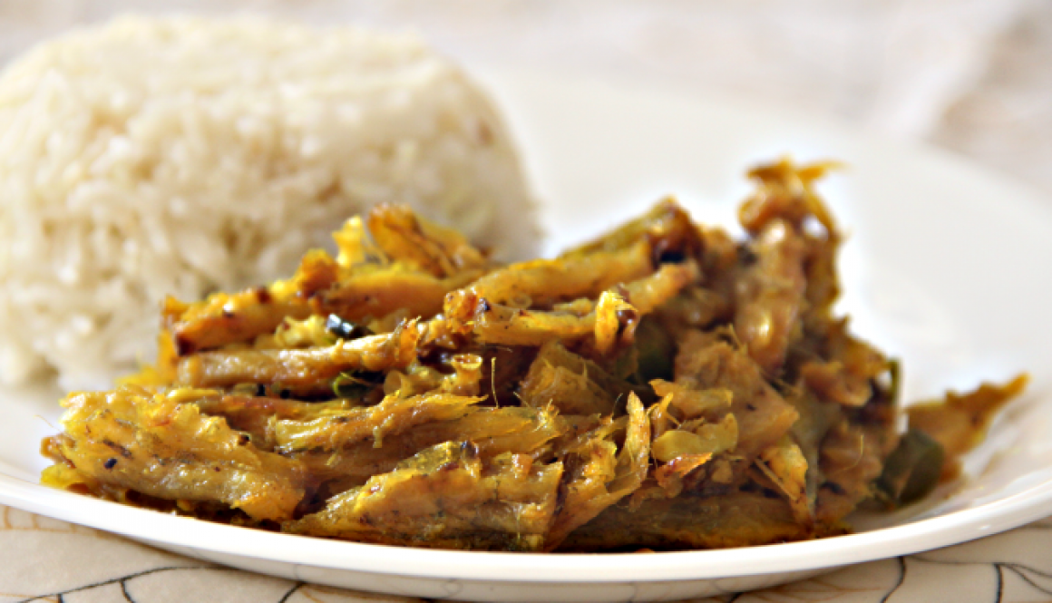 Loitta Shutki (A Traditional Bengali Spicy Dish Made With Dried Bombay Duck)