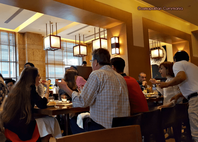 Italian brunch with wine, friends and family. Celini is a busy and happening place on Saturdays!
