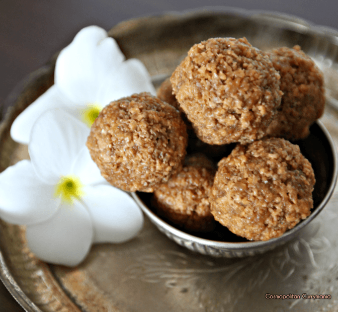 Coconut balls with Jaggery