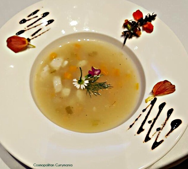 A Greek Seafood Soup that was served in the Greek Fest at Hyatt Regency Mumbai recently