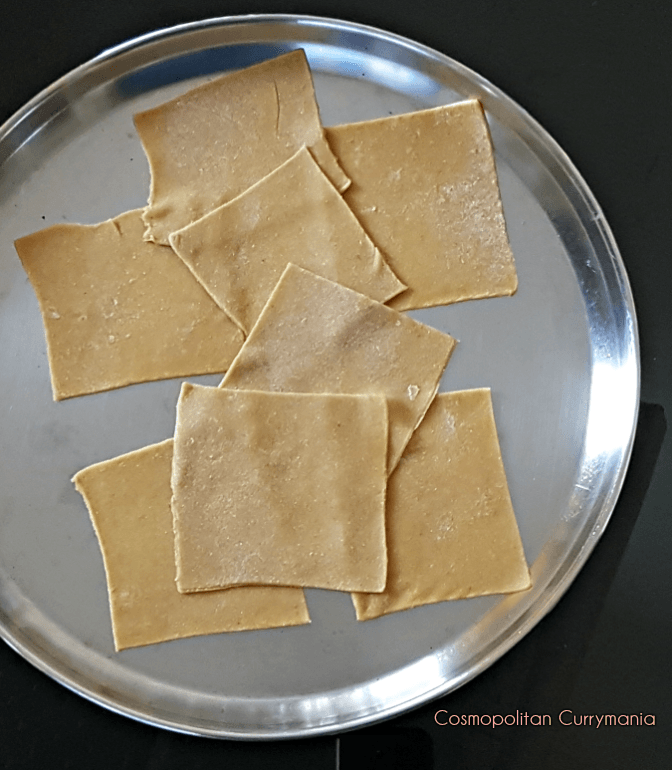 How to make Ravioli sheets