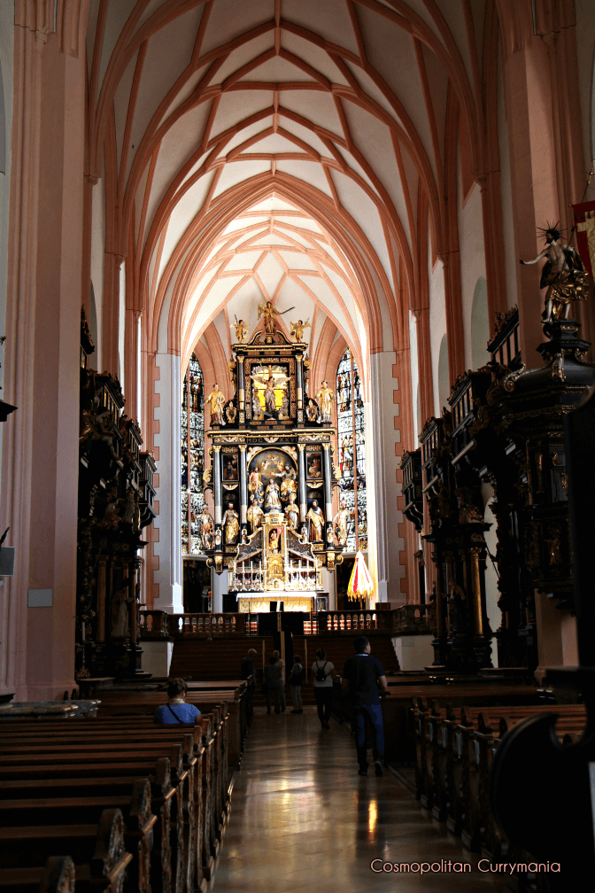 Altar Mondsee Cathedral