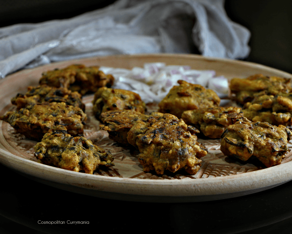 Indian fish fries or fritters