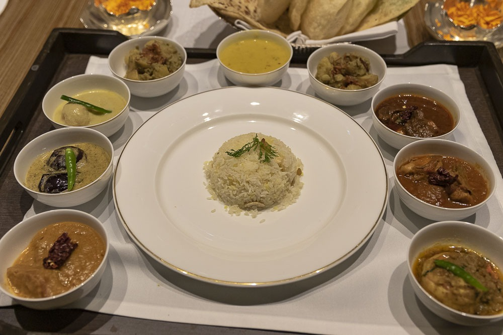 The Aaheli (Kolkata) Bengali Food Popup at Jamavar, The Leela, Mumbai