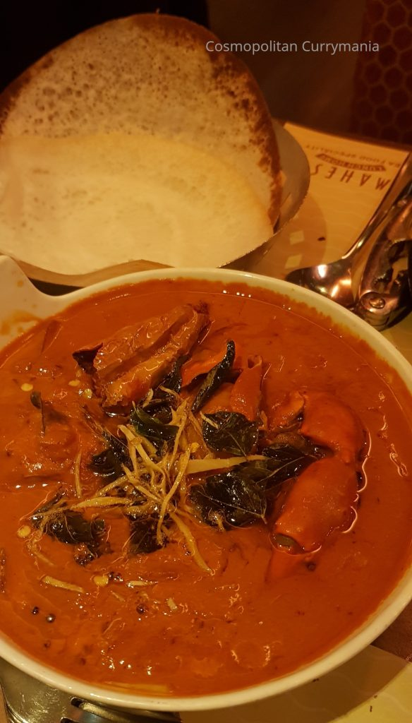 Kundapur Crab Curry in Mahesh Lunch Home, Juhu