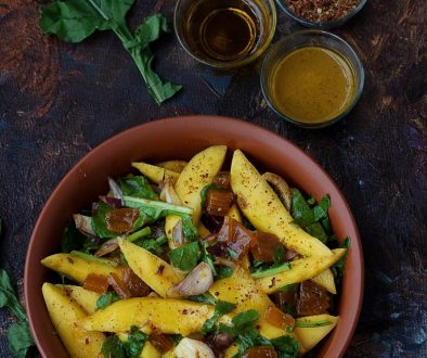 Mango Pickle salad pic 1 by Purabi